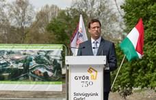 21 milliárd forint kormányzati támogatásból épül vízi élménypark Győrben