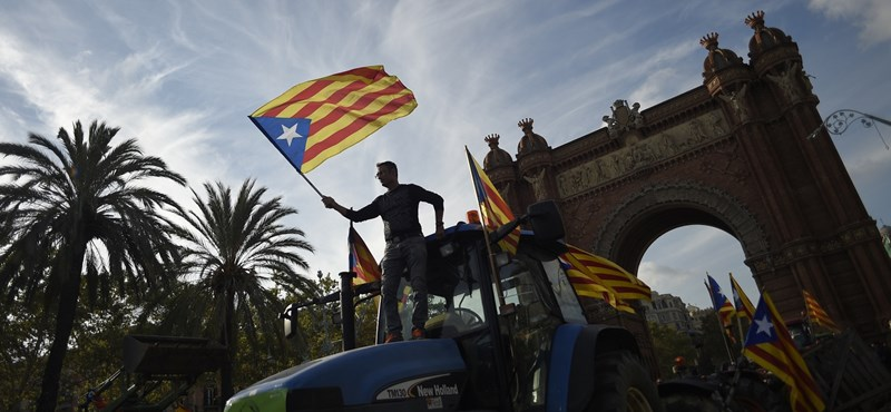 Most a bankoknak mentek neki a katalán szeparatisták