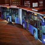 Új magyar buszt tesztelnek Győrben - fotó