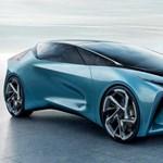 Ékalakú sirályszárnyas autót mutatott be a Lexus