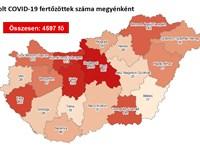 Május vége óta nem találtak ennyire sok magyar koronavírus-fertőzöttet egy nap alatt