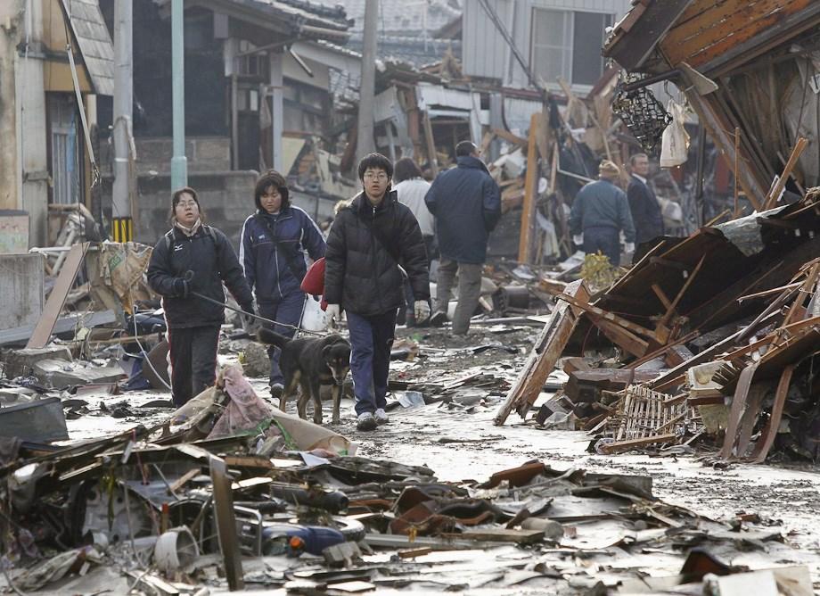 A japán cunami pusztítása - Nagyítás-fotógaléria