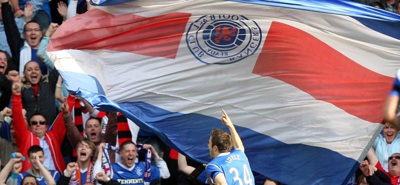 UEFA-vizsgálatot sürget a Glasgow Rangers edzője a botrányos Európa-liga-meccs után
