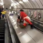 11 millió megtekintés felett a részeg dartsrajongó londoni metrókalandja - videó