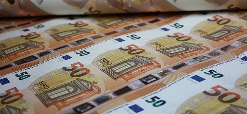Új euróbankjegyet vezetnek be 19 országban
