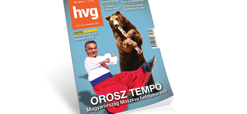 Morcosak lettek Moszkvában a HVG mackós címlapos száma miatt