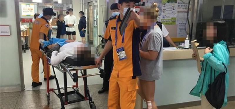 Halálos baleset történt a vizes vb alatt, sportolók sérültek meg egy szórakozóhelyen