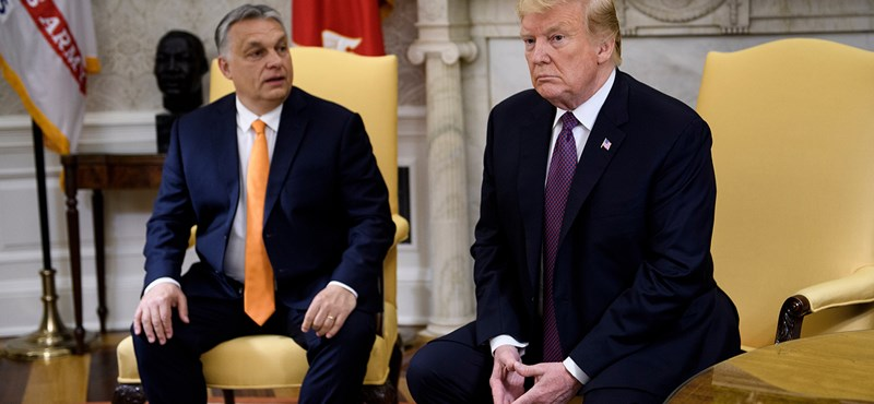 Trump Orbánnak: Jó munkát végzett