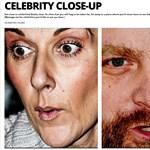 Fotók: sztárok és politikusok ijesztően közelről