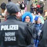 Több ezer rendőrrel indult el a kölni farsang