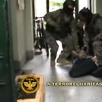TEK-esek törték rá az ajtót egy élettársát bántalmazó férfira Győrben - videó