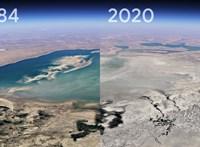 Már a Google Earthben is látható, mit művelt eddig a bolygóval a klímaváltozás