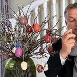 Meglocsolta unokáját Orbán - fotó