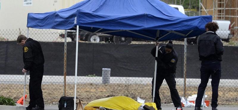Ámokfutó lövöldözött autókra egy kaliforniai városban