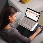 Multitouch touchpaddel felszerelt laptop-támaszték