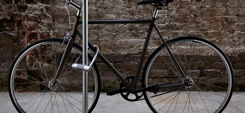 Új találmány a napelemes biciklizár