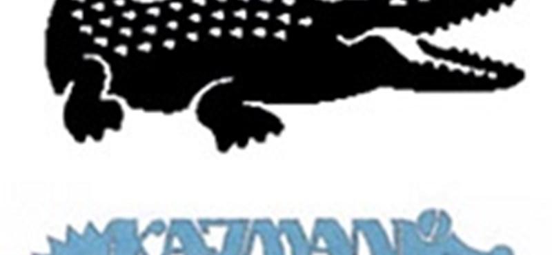 Lengyel kajmánra támadt a Lacoste krokodilja