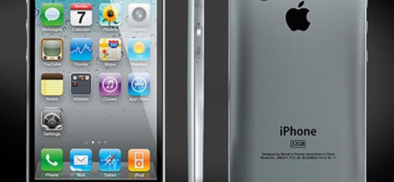 Képek – ilyen lesz az iPhone5?