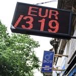 Tényleg nem tragédia a 320 forintos euró?