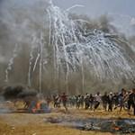 Éjjel is rakétáktól volt hangos a Gázai övezet
