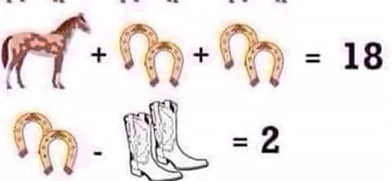 Egy alapiskolás matekpélda, mégis ezen pörög a net - ön szerint mi a megoldás?