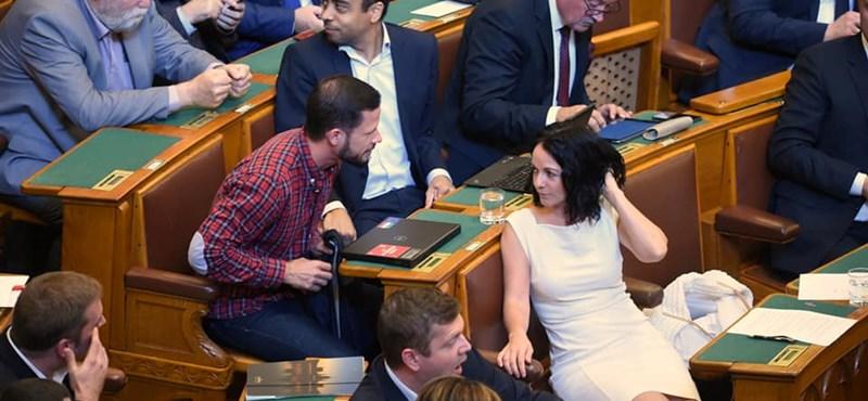 Kocsis Máté videóval próbálja bizonyítani, hogy Tordai fenyegeti a fideszeseket