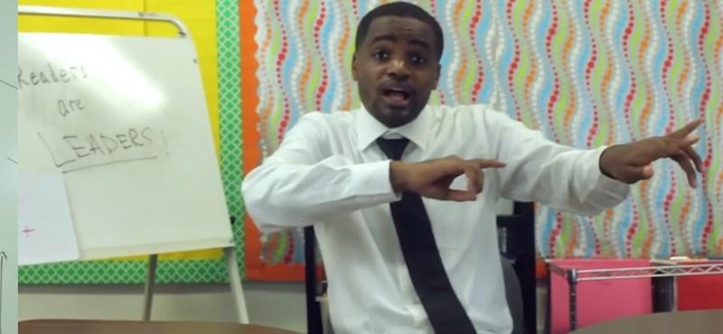 Így lelkesít tanévkezdés előtt egy igazán laza tanár