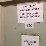 Itt találtak azbesztet az OSZK-ban