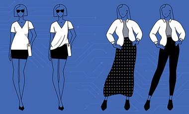 """""""Tűrje fel az ingujját!"""" – a mesterséges intelligencia megtanulta, kinek mi áll jobban"""
