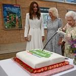II.  La reina Isabel no necesita cuchillo, también resuelve cortar un pastel con una espada