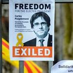 A volt katalán elnököt kiengedik az őrizetből, de nem lesz szabad