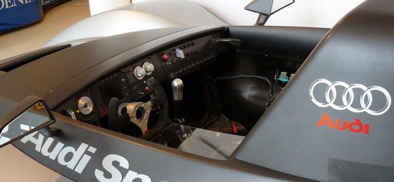 Az Audi áll az F1-es motormizéria hátterében