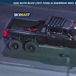 Komoly utcai üldözést rendeztek DJ Marshmellow ellopott hatkerekű óriásautójával