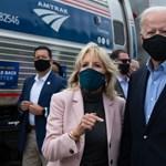 Bident úgy védi a felesége a koronavírustól, hogy abból oktatófilm lehetne Trump számára
