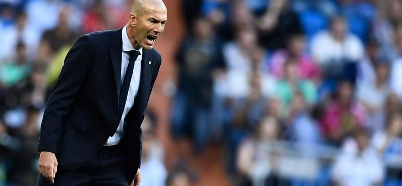 Zidane: Van szerződésem, de a futballban sosem lehet tudni, mi történik