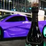 Egymillió dolláros McLaren és egy üveg Dom Perignon – kicsit extrém kupak-challenge