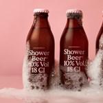 Szeret iszogatni fürdés közben? Itt a zuhanysör!