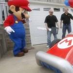 Működő Márió-autót nyert a játékos (videó)