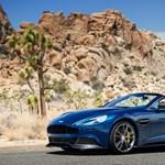 Klasszikusan szép az Aston Martin új kabriója