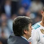 Van hiúbb focista Cristiano Ronaldónál?