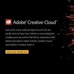 Jövő héten érkezik az Adobe CS6 és a Creative Cloud! Íme a link az élő online bemutatóhoz! [videó]