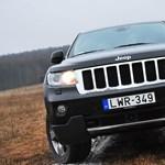 Jeep Grand Cherokee teszt: ha nincs hó, keresünk, ha van sár, belemegyünk
