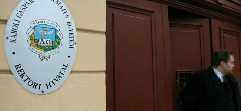 A Károli Gáspár Református Egyetem polgárai is kiállnak az SZFE mellett
