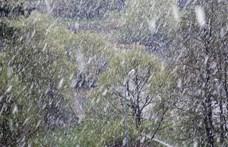 Már van, ahol elkezdett havazni