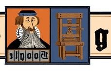 Miért van éppen ma Johannes Gutenberg a Google főoldalán?
