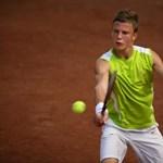 A világcsoportba jutás küszöbén a magyar teniszezők