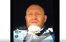 Most egy ketrecharcos élőzött autózás közben, nem lett szép vége – videó