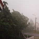 Másodfokú riasztás a heves szél miatt
