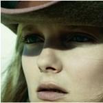 Mihalik Enikő cowboyként az olasz Vogue-ban