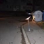 Annyira részeg volt a kaposvári autós múlt éjjel, csak úgy törte a tereptárgyakat - fotók